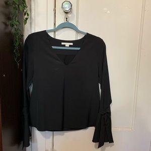 Cooper & Ella Black blouse